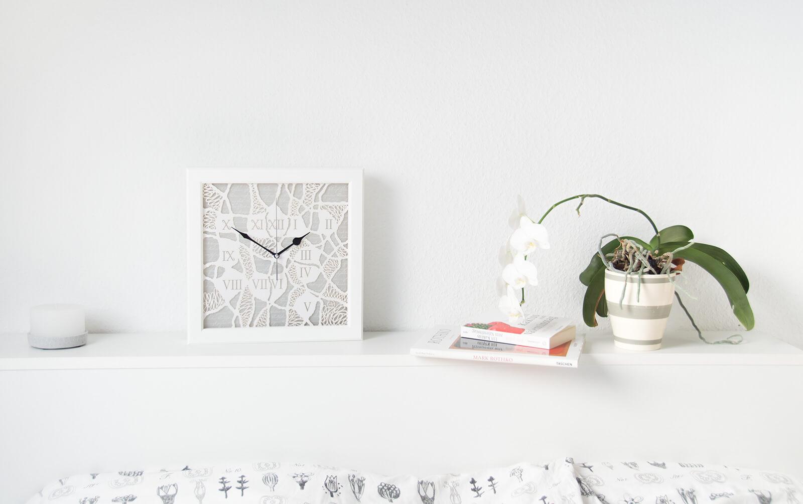 Originelle wanduhr mit beleuchtung antarktika wanduhren design atelier - Originelle wanduhr ...